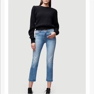 FRAME Le High Straight Leg Denim in Withers Sz. 26